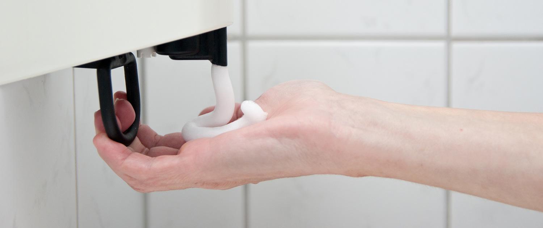 Seifenspender, Hygieneservice, Handelsware